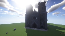 Gothic Cathedral from Coalcraft Rebuild Minecraft Map & Project