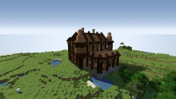 "My wood mansion ""oak palace"" Minecraft Map & Project"