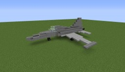 Northrop F-5 Tiger Minecraft Map & Project