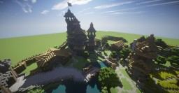 Small town of Dalamor Minecraft Map & Project