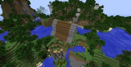 Fishing hut on moutain Minecraft Map & Project