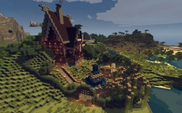 Medieval windmill house (Survival Ready) [1.11] Minecraft Map & Project