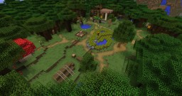 Aurora Glade (World Template) Minecraft Map & Project
