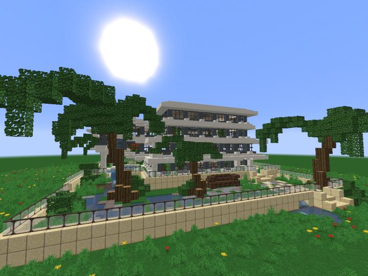 Jungle Mansion 1 10 Small Minecraft Mansion Minecraft