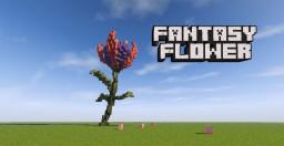 Beatiful Fantasy Flower #1 Minecraft Map & Project