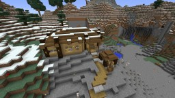 Log Cabin Survival House Minecraft Project