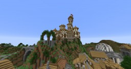 The Wooden Castle Minecraft Map & Project