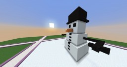 Snowman|Created by my friend Sergio78 Minecraft Map & Project