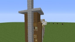 Le house ( A house created by a idiot. ) Minecraft Project