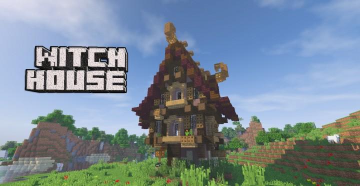Mine Craft Fantasy Houses