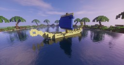 Small ancient egyptian boat Minecraft
