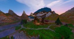 steampunk hot air balloon Minecraft Map & Project