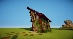 Decorative House | Medieval Art Minecraft Map & Project