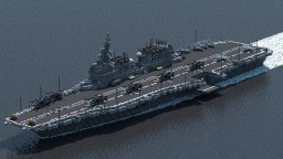 [AU] Shokaku-class Helicopter carrier Minecraft