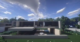 Modern Contemporary Home - 3 Minecraft Map & Project
