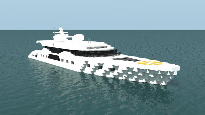 Segelyacht modern  Finlandia // Modern Yacht Minecraft Project