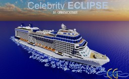 Celebrity Eclipse 1:1 Scale Cruise Ship [+Download] [Old Project] Minecraft Map & Project