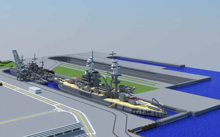 The Drydocks of Pearl Harbor