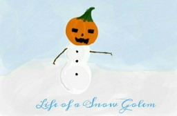 Life of a Snow Golem ~ Contest Entry ~ 100 Subscribers  Minecraft Blog
