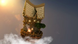 -Den Upon the Clouds- Minecraft Map & Project