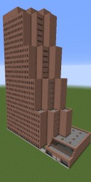 Georgia Pacific Building (1/2 scale) Minecraft Project