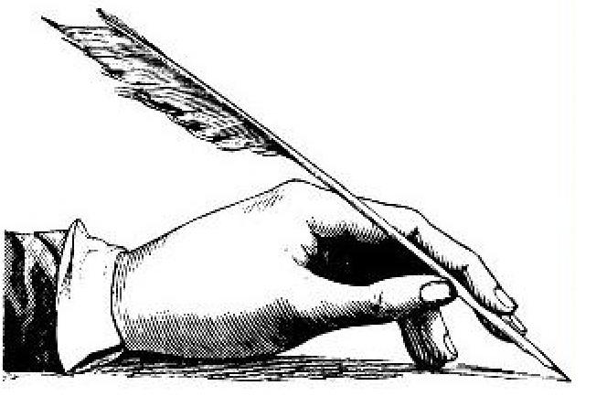 Good handwriting pen holding
