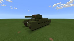 Infantry Tank Mark 1 'Matilda' (Pocket Edition) Minecraft