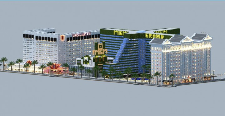 Trump International Hotel & Tower - Las Vegas Minecraft Map