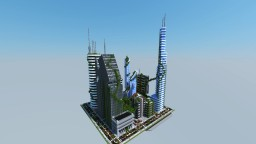 Postapocalyptic city [BY MEZINE] Minecraft Project