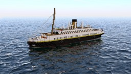 "SS Nomadic ""Titanic's Taxi"" Minecraft Project"