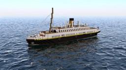 "SS Nomadic ""Titanic's Taxi"" Minecraft"