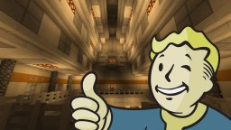 VAULT 148 - A Fallout inspired Build Minecraft Map & Project