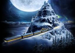 Polar Express Rollercoaster Journey Minecraft Project