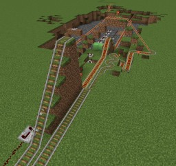 Redstone Railroad Track Minecraft Map & Project