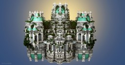 Un Palat Alb Minecraft Map & Project