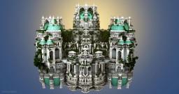 Un Palat Alb Minecraft