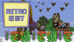 Retro 16-Bit Texture Pack (Minecraft 1.11) Minecraft Texture Pack