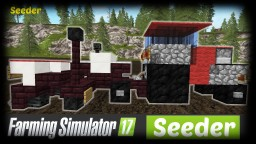 Minecraft - How to make a Seeder | Farming Simulator Tutorial Minecraft Map & Project