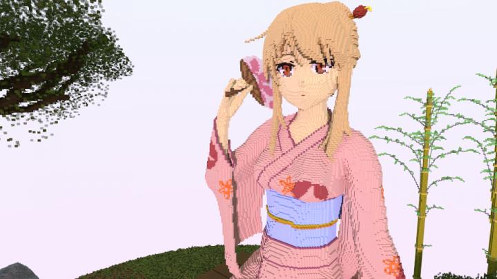 Shiina Mashiro 3d Modle – HD Wallpapers