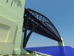 Sydney Harbour Bridge  2 Blocks per M Minecraft Project