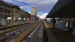 "NYC Chicago Style 'El' ""L"" Elevated Train System Minecraft Map & Project"