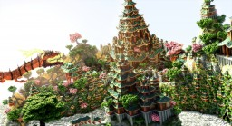 Shan Yi - The Land of Temples w/DoriFyah_ Minecraft Map & Project