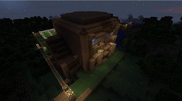 Redstone house with auto-farm Minecraft Map & Project