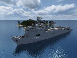Foudre-class landing platform dock Minecraft Map & Project