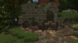 Misc. Builds on Conquest Reforged Server Minecraft