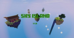 sky island V1.0 Minecraft Map & Project