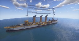 SMS Emden 1913 Minecraft Map & Project