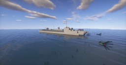 S-100 Torpedo Boat Minecraft Map & Project