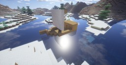 "The first ship I build ""SMS Segelschiff"" Minecraft Map & Project"