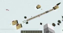 Christmas Lucky block race 1.8.0 Minecraft Map & Project